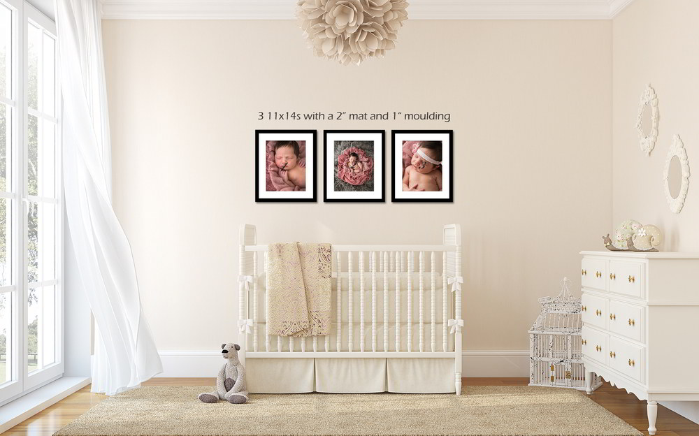 Newborn Photography Canvas Print Wall Display by Howe Studios, Wallacia, Sydney