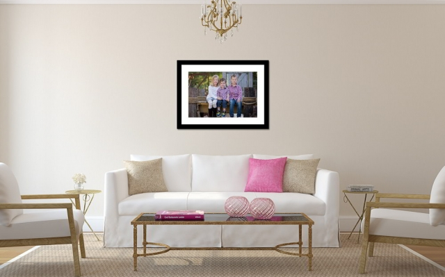 Family Photography Canvas Print Wall Display by Howe Studios, Wallacia, Sydney
