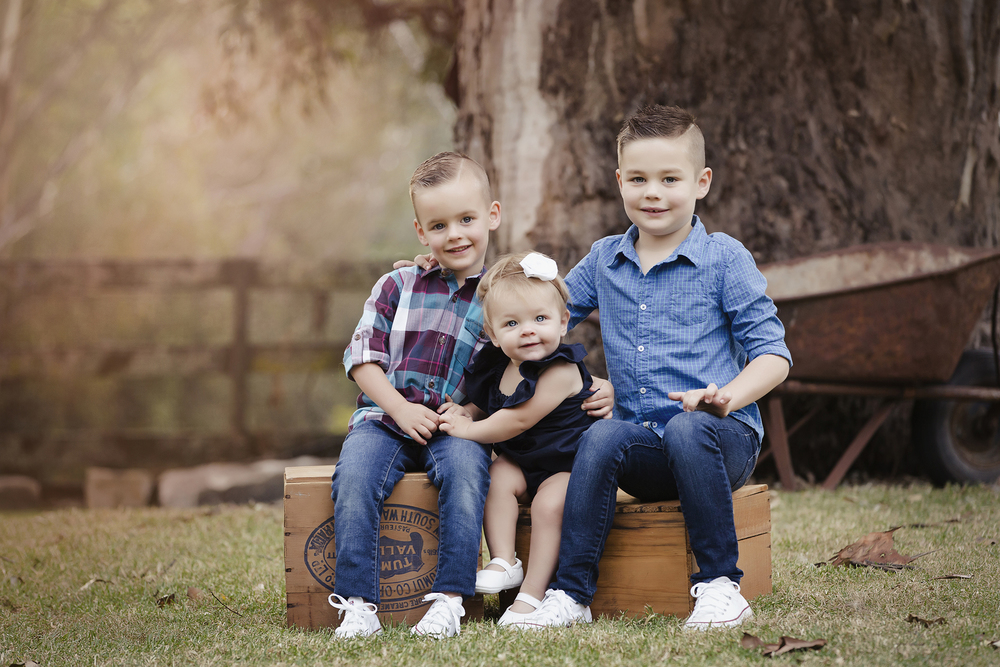 Collins Family Portrait Photography by Howe Studios, Sydney