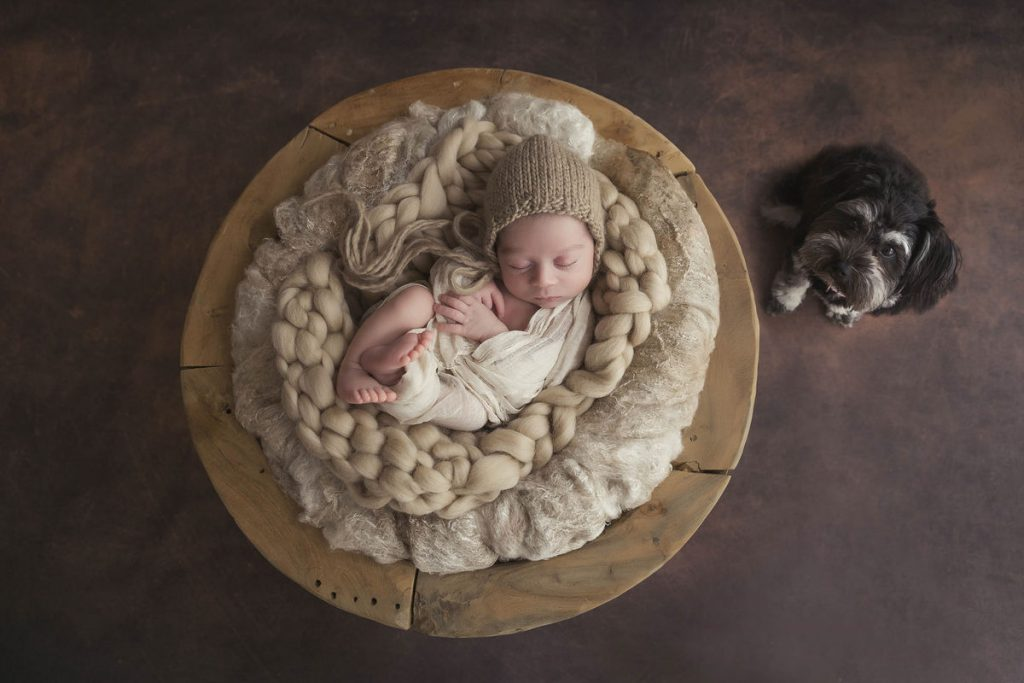 Baby Isaac and Macey - Newborn Photography by Howe Studios