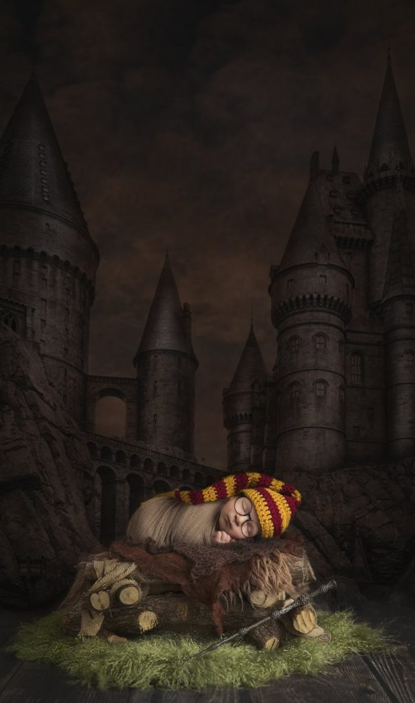 Harry Potter by Natalie Howe, Newborn Photographer of the Year 2016