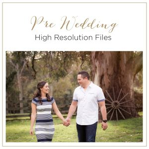 Pre Wedding Photography Session Files